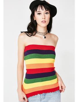 Color Coded Tube Top by Debut