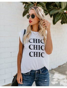 Chic Chic Chic Tee by Vici