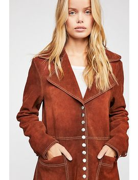 We The Free Retro Snap Suede Jacket by Free People