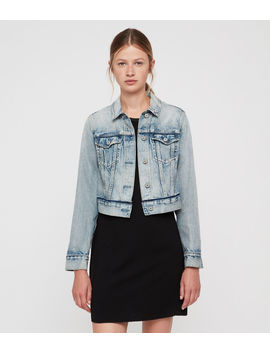 Hay Cropped Jacket by Allsaints