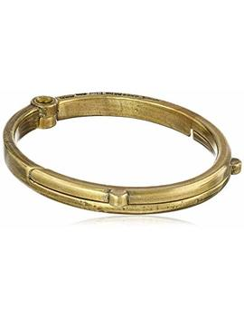 Giles And Brother Men's G&B Latch Classic Brass Cuff Bracelet by Giles & Brother