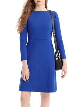 365 Knit Fit & Flare Dress by J.Crew
