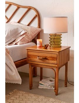 Wren Rattan Nightstand by Urban Outfitters