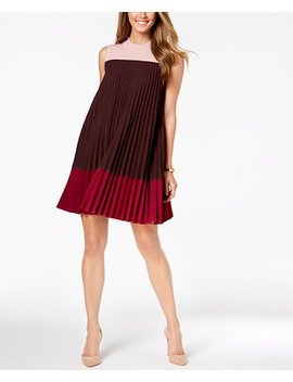 Pleated Swing Dress, Created For Macy's by Alfani