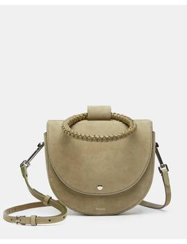Whitney Bag With Braid Hoop In Suede by Theory