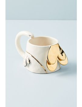 Fauna Fete Mug by Gail Cc Ceramics