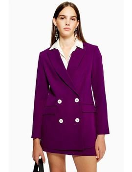 Purple Suit by Topshop