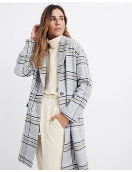 Plaid Bryant Coat by Madewell