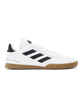 White Adidas Originals Edition Gr Copa Wc Super Sneakers by Gosha Rubchinskiy