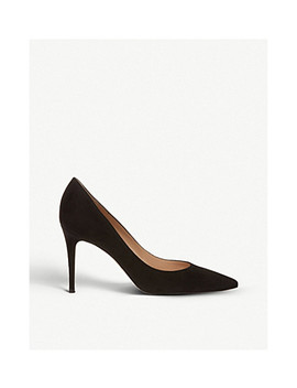 Gianvito Ballet Flat 85 Suede Courts by Gianvito Rossi