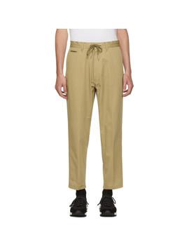Beige P Morgan Trousers by Diesel
