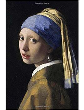 The Girl With A Pearl Earring: Blank Journal; Johannes Vermeer Notebook / Composition Book, 140 Pages, 6 X 9 Inch (15.24 X 22.86 Cm) Laminated by Studio Beeker