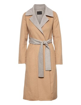 Japan Online Exclusive Wool Blend Coat by Banana Repbulic