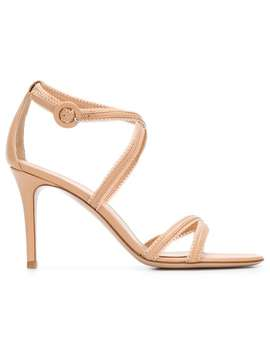 Side Buckle Sandals by Gianvito Rossi