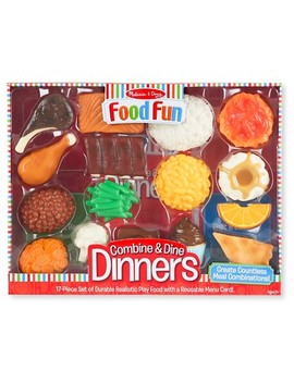 Melissa & Doug® Food Fun Combine & Dine Dinners   Red by Melissa & Doug