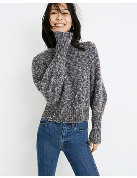 Pleat Shoulder Pullover Sweater by Madewell