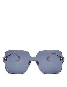 Women's Colorquake Oversized Square Rimless Sunglasses, 99mm by Dior