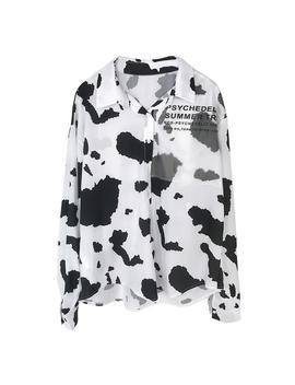 Milk Printed Shirt by Dog Dog
