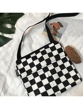 Checkered Handbag by Dog Dog