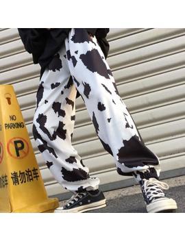 Milk Printed Pants by Dog Dog