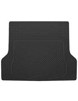 Bdk Heavy Duty Rubber Cargo Floor Mat   All Weather Trunk Protection, Trimmable To Fit & Durable Rubber (Black) by Bdk