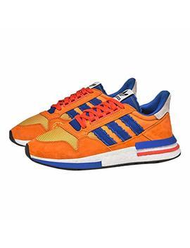 Adidas Zx 500 Restomod Dragon Ball Z Son Goku Mens Style : D97046 Orange/Royal Size : 7 M Us by Adidas