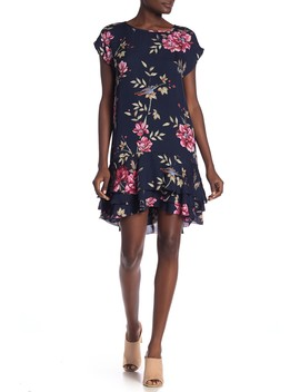 Coreen Floral Print Silk Dress by Joie