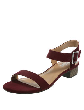 Women's Samara Low Block Heel Sandal by Learn About The Brand Brash