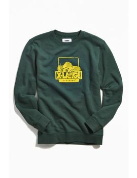 X Large Og Chimp Crew Neck Sweatshirt by X Large