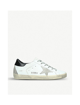 Superstar W5 Leather Sneakers by Golden Goose