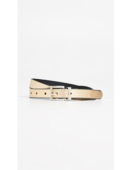 Metallic Snake Reversible Belt by Kate Spade New York