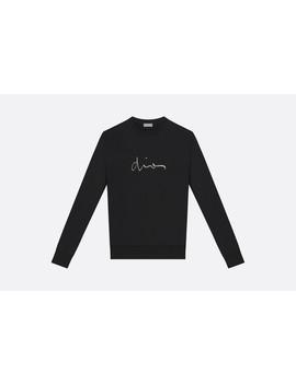Katoenen Sweatshirt, Geborduurde Dior Signatuur by Dior