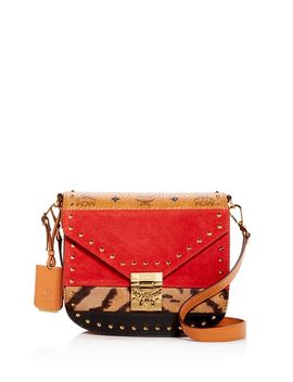 Patricia Mixed Media Crossbody by Mcm