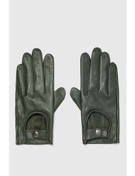 Leather Driving Gloves  Gloves.Accessories Man by Zara