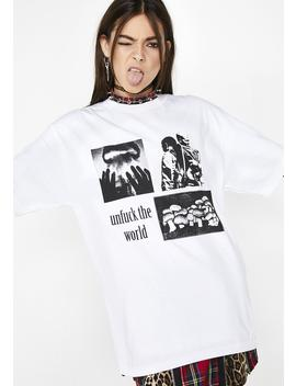 World T Shirt by Pleasures