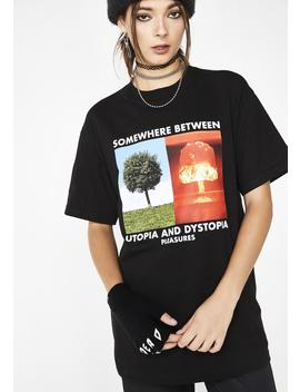Somewhere T Shirt by Pleasures