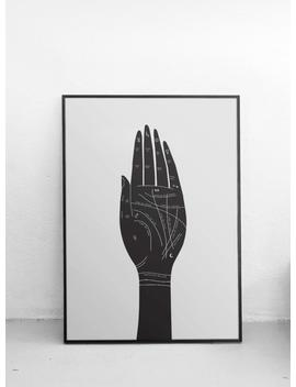 Palmistry Guide Art Print   Palm Reading Print   Palmistry Art   Magic Poster   Hand Art   Home Decor   Fortune Telling by Etsy