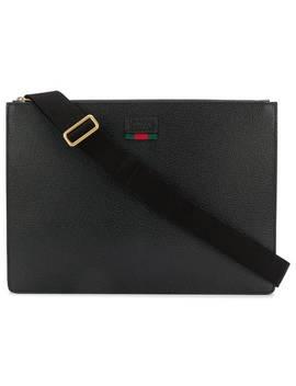 Logo Laptop Bag by Gucci
