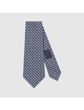 Krawatte Aus Seide Mit 3 D&Nbsp;G by Gucci