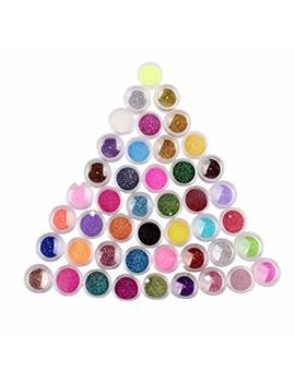 Nykkola 24 Colors Nail Art Make Up Body Glitter Shimmer Dust Powder Decoration by Nykkola