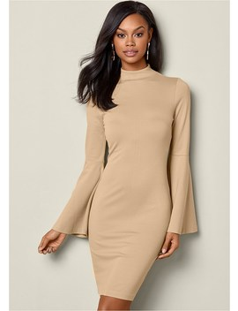 Bell Sleeve Dress by Venus