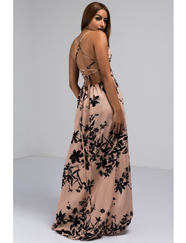 Honolulu Here I Come Floral Maxi Dress by Akira