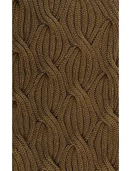 Cable Knit Scarf by Barneys New York