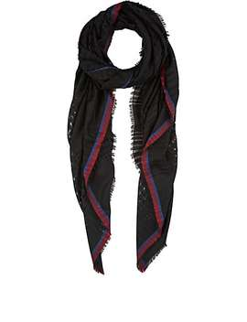 Open Weave Wool Scarf by Barneys New York