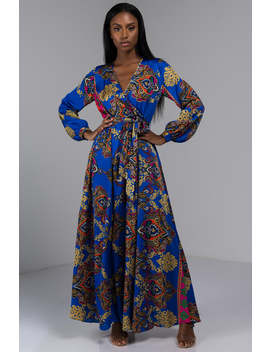 Lovers And Poets Maxi Dress by Akira