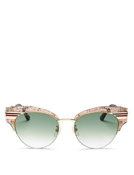 Women's Glitter Cat Eye Sunglasses, 51mm by Gucci