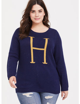 Harry Potter Navy Marled Sweater by Torrid