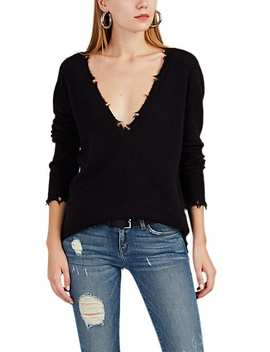Brody Distressed V Neck Sweater by Iro