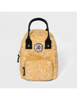 Women's Floral Print Mini Dome Backpack   Wild Fable™ Yellow by Wild Fable™