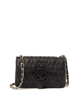Poissou Leather Shoulder Bag by Valentino By Mario Valentino